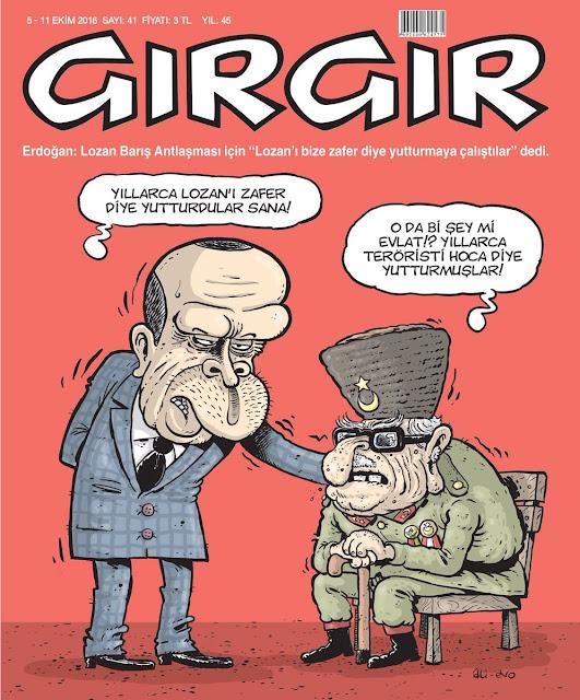 Gırgır Dergisi | 5-11 Ekim 2016 Kapak Karikatürü