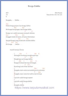 chord bunga dahlia ida laila