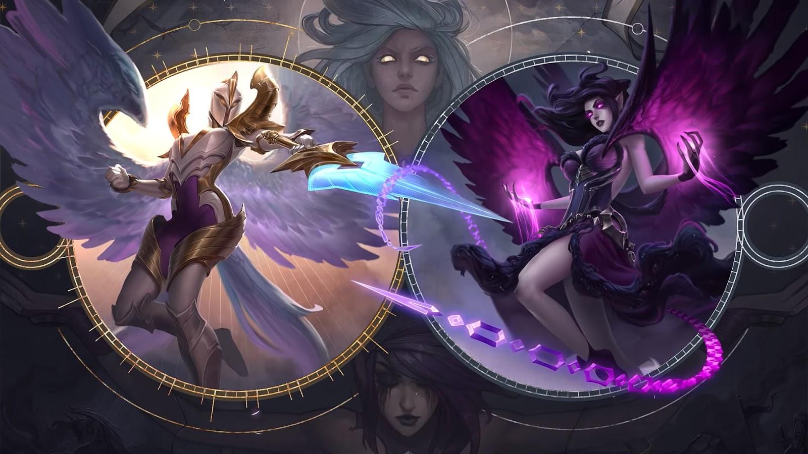 League Of Legends Kayle Morgana