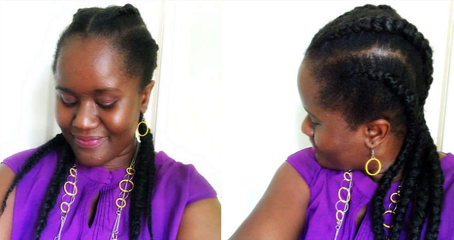 How To Get Ghana Cornrow Braids With Kanekalon Hair Chic From Hair 2 Toe