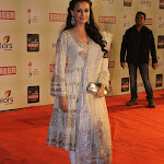 Diya mirza in traditional White designer dress