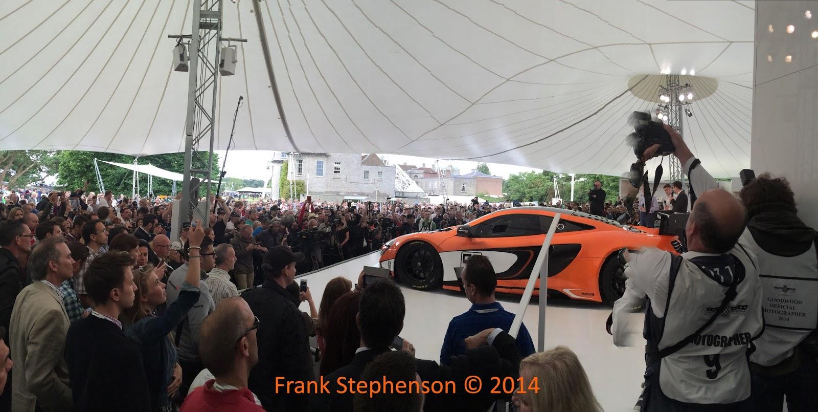 Goodwood Festival of Speed 2014   McLaren 650s GT3 Photo by Frank Stephenson