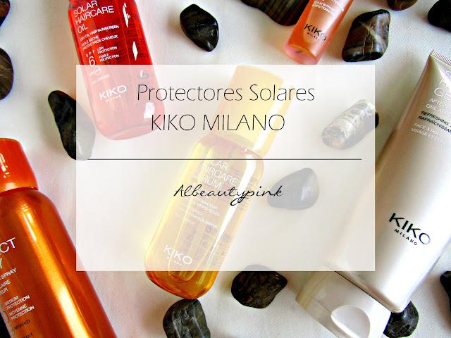 Protectores solares KIKO MILANO