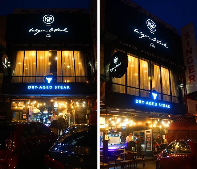 Bukan daging biasa-biasa | Steak di Kota Bharu @ KBB Burger & Steak