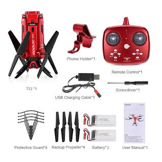 Spesifikasi Drone GoolRC T51 - OmahDrones