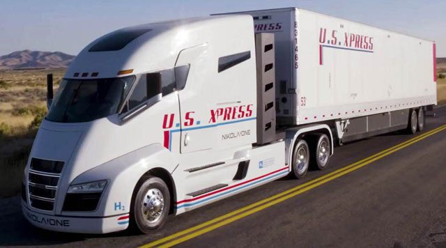 Nikola Motor presents fuel cell truck exclusive for Europe - ...