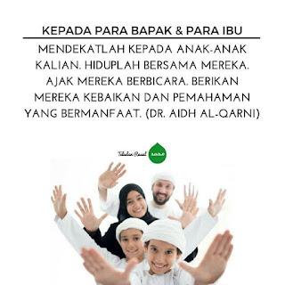 nasehat islami untuk orang tua yang mendidik anak