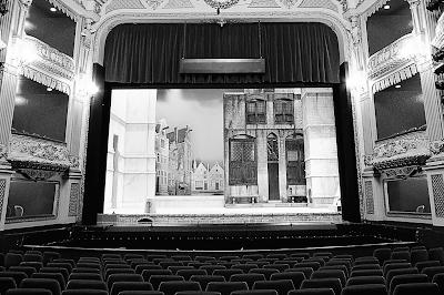 Empty theatre. Free image via Pixabay.