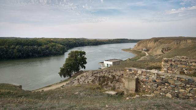 Vedere de la Cetatea Troesmis
