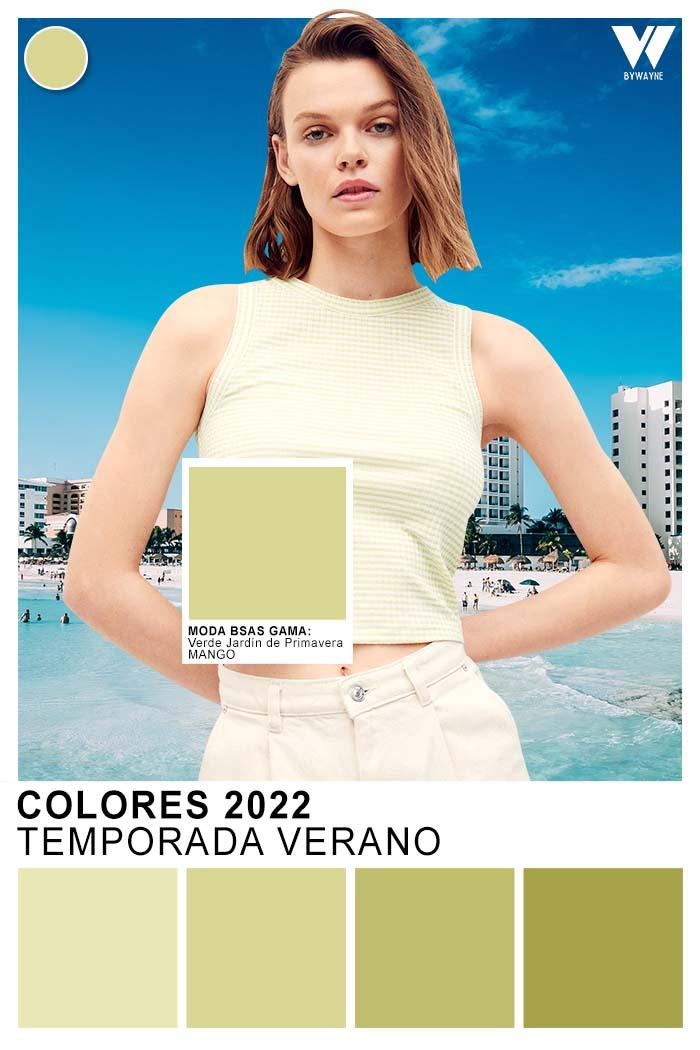 moda colores verdes primavera verano 2022