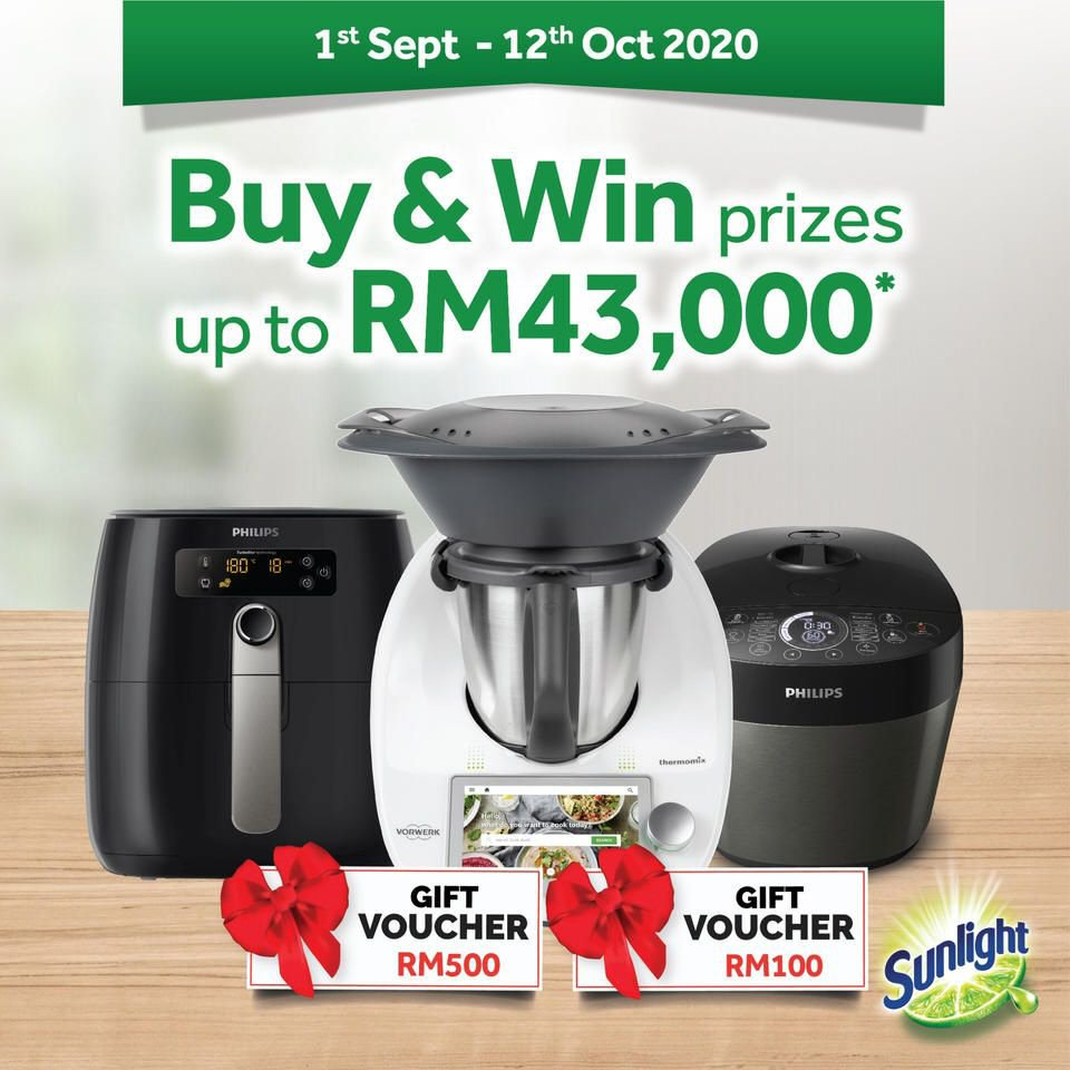 Sunlight: Buy & Win Prizes up to RM43,000