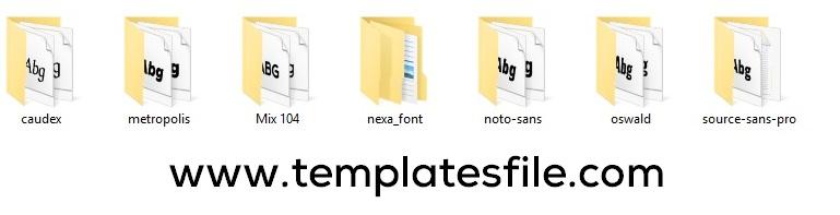 Download 100+ Best Fonts Pack Free Download For Designers