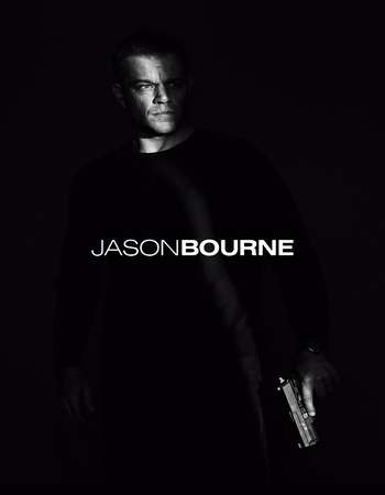 Poster Of Jason Bourne 2016 Dual Audio 350MB HDTS 480p Free Download Watch Online Worldfree4u