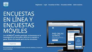 MOBROG, gana dinero con encuestas en español