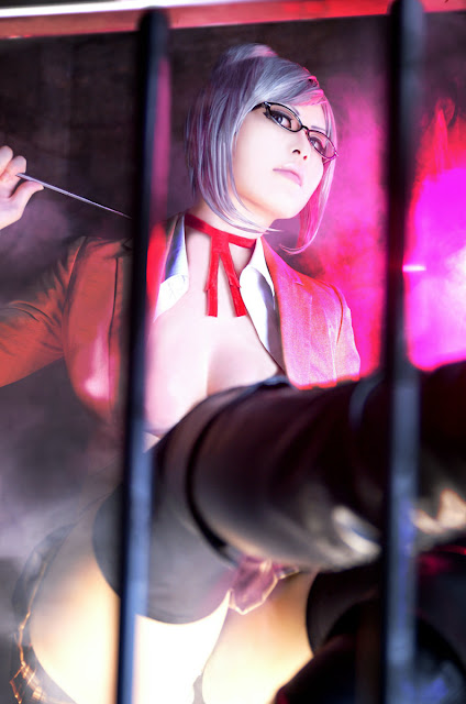 Cosplay Meiko Shiraki z anime Prison School