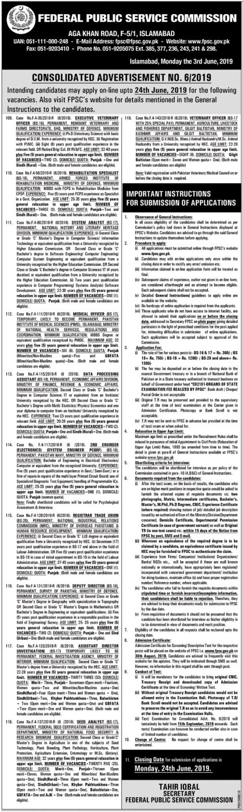 Jobs In Federal Public Service Commission