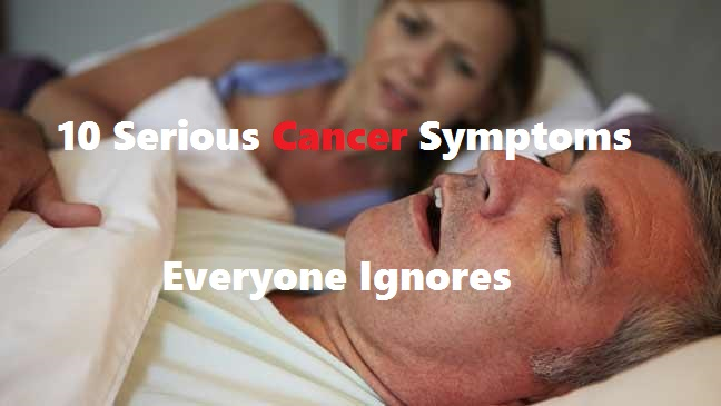 Cancer Symptoms That Everyone Ignores