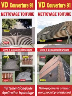 pose hydrofuge toiture