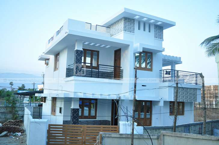 3 Bedroom Budget Minimalist Home Design With 1650 Sqft For