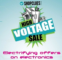 High Votage Sale on Electronics, Mobile, Tablets & Home Appliances @ Shopclues (Valid from 10th June till 12th June'15)