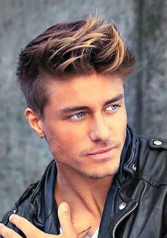 La moda en tu cabello Pelo corto con tupé para hombres 2017