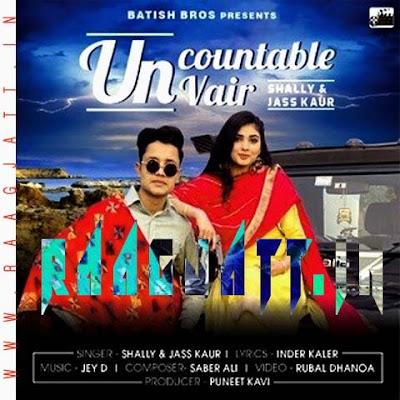 Uncountable Vair by Shally Ft Jass kaur lyrics