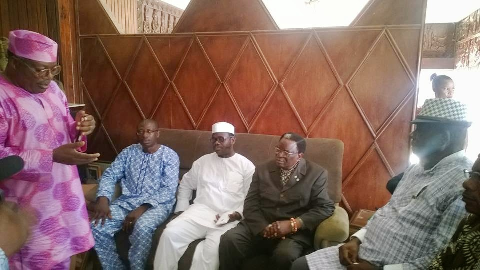 NSE paid Condolence Visit to Founding President of NSE