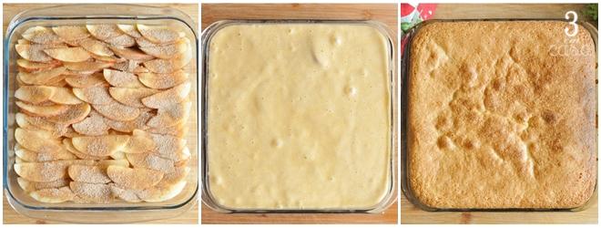 como fazer bolo de maçã rápido