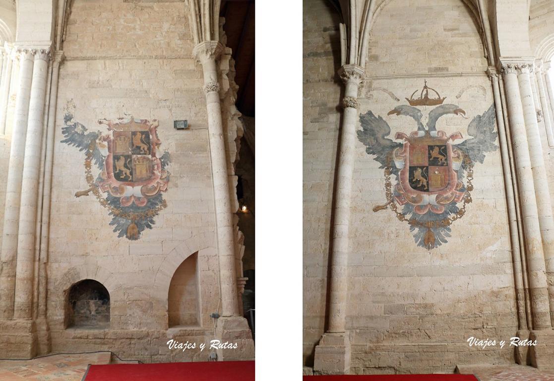 Escudos de Carlos I de Palazuelos
