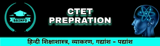 Best CTET Hindi notes 2020 for prepration