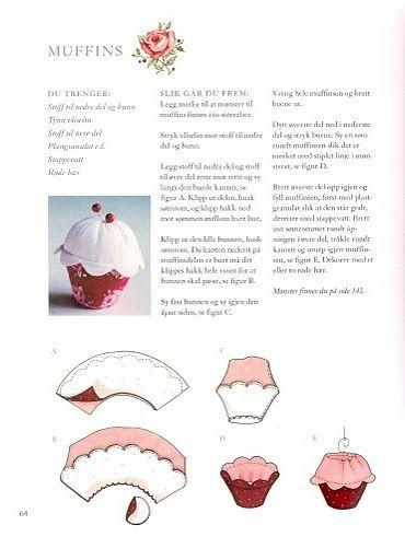 porta alfinetes cupcake moldes