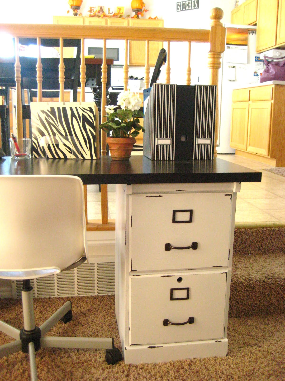 Your Crafty Friend: Before & After Filing Cabinets