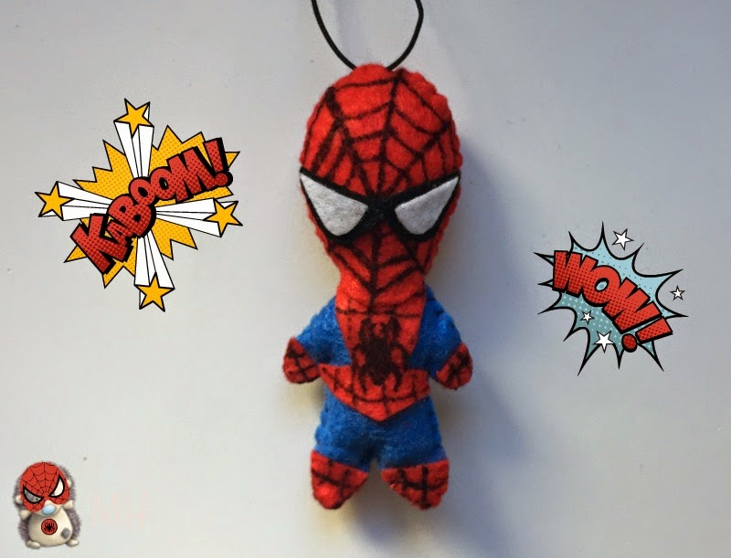 Spiderman en fieltro