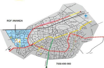ROF Ananda Sector 95 Gurgaon Location Map