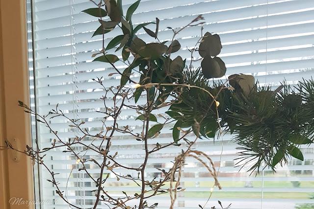 rottinki rengas kranssi joulu sisustus #kranssilove