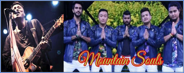 Deepak Bajracharya and The Mountain Soul band in Mungpoo