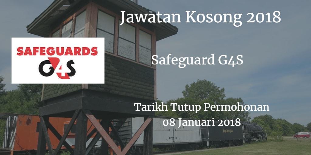 Jawatan Kosong Safeguards G4S 08 Januari 2018
