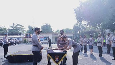 Sejumlah Pejabat Utama Polres Lombok Timur Serah Terima Jabatan, Ini Pesan Kapolres