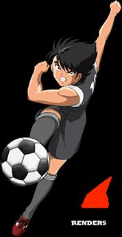 Render Kojiro Hyuga Super Campeones