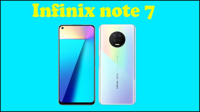 Infinix note 7 Smartphone के बारे में पूरी जानकारी हिंदी में | infinix note 7 Smartphone Mobile Full Specification