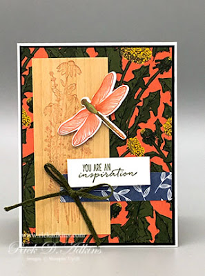 Find your inspiration with the Dragonfly Garden Bundle and this weeks sketch challenge over at the Spot challenge blog; Click here to learn more