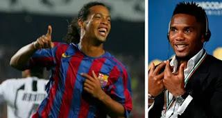 'Ronaldinho is a genius not just in football': Samuel Eto'o admire his Ex-Barca teammate