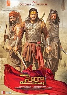 Sye Raa Narasimha Reddy Tamil Full Movie DVDrip Download mp4moviez