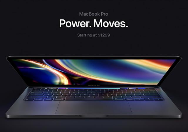 Laptop Apple Macbook Pro 13 Inci 2020