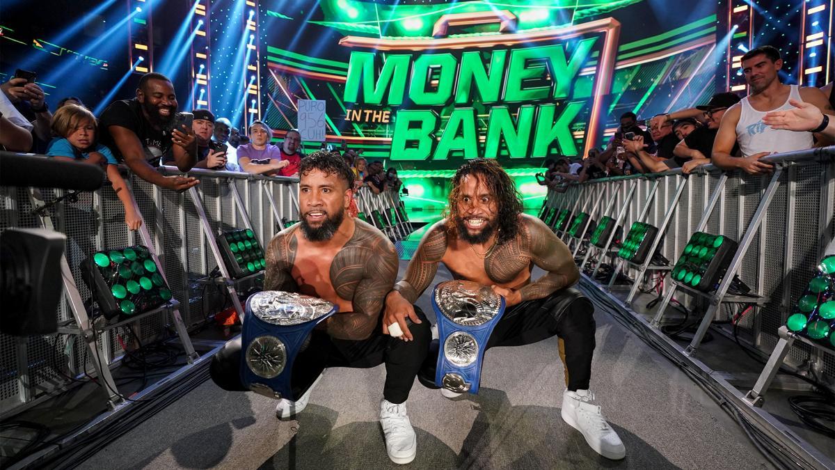 The Usos conquistam o SmackDown Tag Team Championship