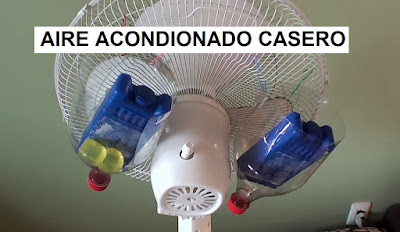 Tutorial fácil para fabricar un aire acondicionado casero
