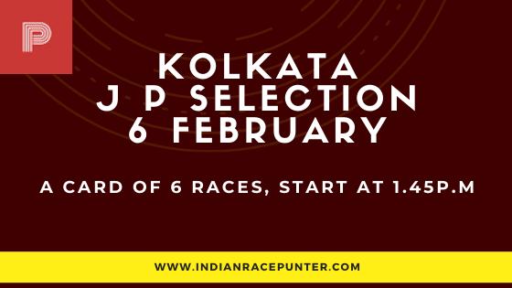 Kolkata Jackpot Selections 6 February