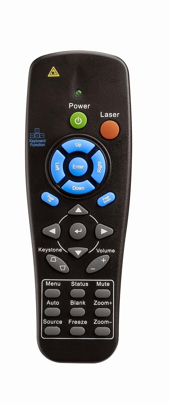 Máy chiếu Vivitek DW868 điều khiển