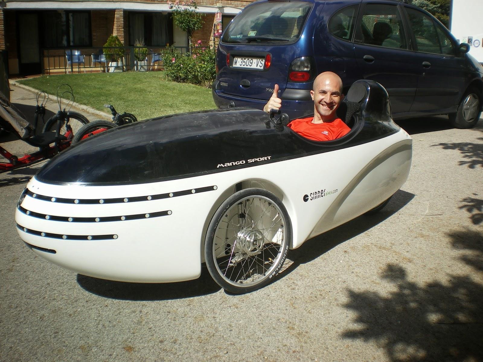 Familia Supertramp velomobil