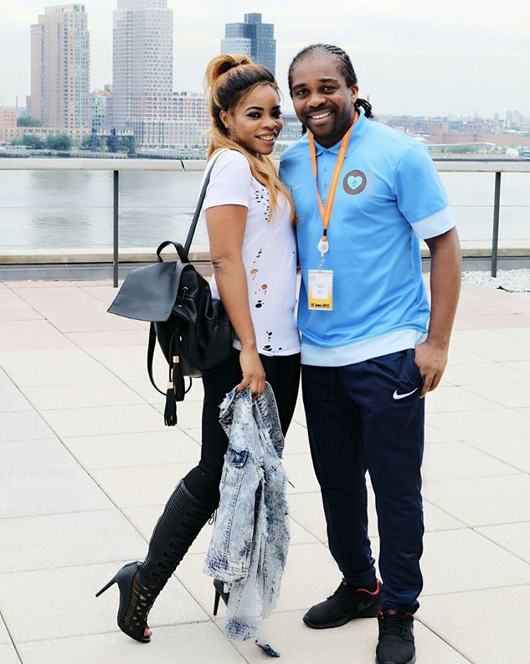 Laura Ikeji and hubby Ogbonna kanu